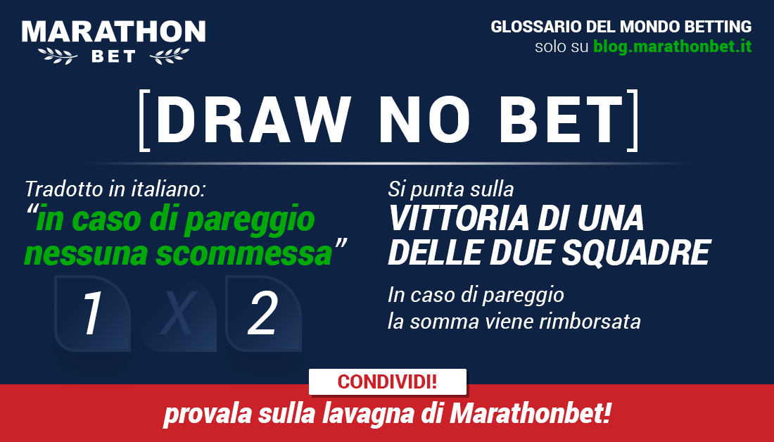 scommessa Draw No Bet