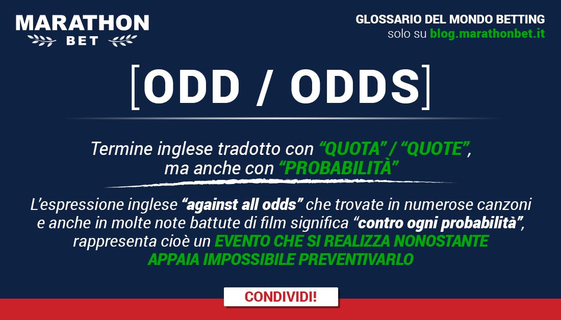 ODD - ODDS