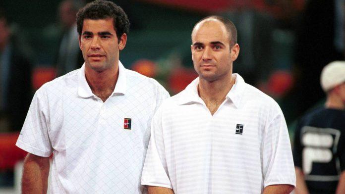 Pete Sampras e Andre Agassi