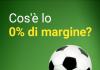 Lo 0% di margine su Marathonbet