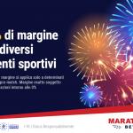 Gli eventi sportivi 0% margine su Marathonbet