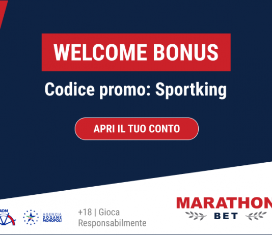 Welcome Bonus Sportking su Marathonbet