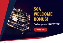 Scopri il nostro nuovo Bonus HAPPY2021!